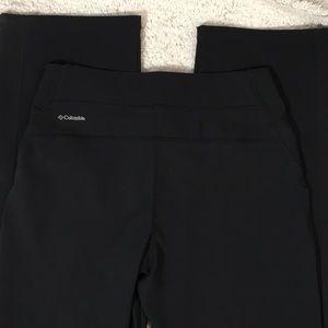 Columbia black active wear pants
